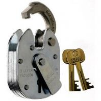 Era 5 Lever Padlock - Finish: Stainless Steel
